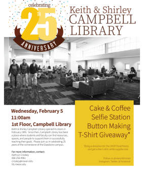 25th Anniversary Campbell Library