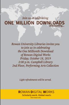 Rowan Digital Works Celebrates One Million Downloads
