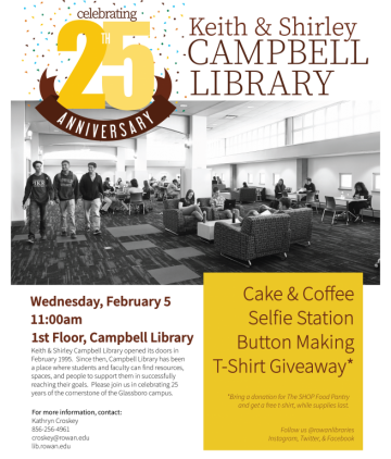 Celebrating 25 Years of Campbell Library