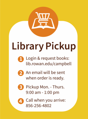 Campbell Library launches Pickup Service.